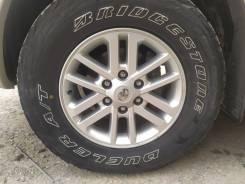Bridgestone Dueler A/T. грязь at, 2012 год, б/у, износ 60%