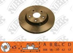 Диски тормозные задние NIBK Suzuki Escudo 5561177K00, 5561177K01