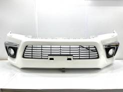 Бампер передний Toyota Hilux GUN125 Япония оригинал б/п g4994