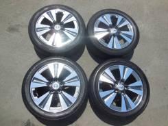 Комплект оригинальных колес (лето) Nissan LEAF 215/50R17