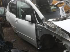 Дверь передняя правая Toyota Corolla Spacio ZZE124 белая