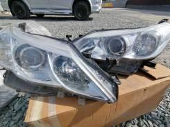 Передняя оптика на Toyota Mark X GRX130