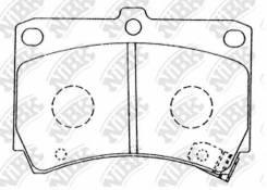 Колодки дисковые п. Mazda 121 1.3 90-96/323 1.3-1.8/1.7D 89-98 NIBK PN5232 PN5232-NIBK_! PN5232