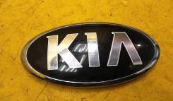 Эмблема Kia Sportage III на крышку багажника, б/у 863533W510