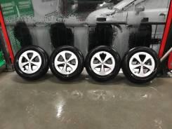 Bridgestone Ecopia + Литые диски Prius