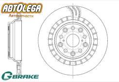 Диск тормозной задний левый G-brake Lexus LS460 LS600h GR-20809