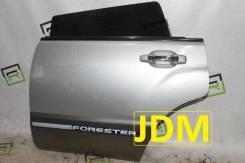 Дверь задняя левая Subaru Forester SF5 [с распила]