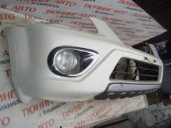 Бампер передний Honda Crv RD7 K24A 2005 год цвет белый nh624p