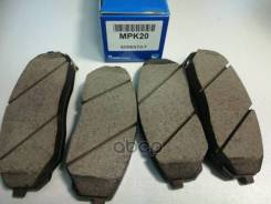 Колодки Тормозные, Передние Mando арт. MPK20 MPK20