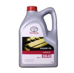Toyota. 5W-40, синтетическое, 5,00л.