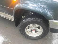 Продам колеса на джип 245/70/16 на литье с выносом.