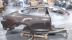 Часть кузова (вырезанный элемент) Tesla Model S, правая задняя