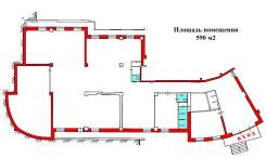Помещение (590 м2 - Тухачевского 30). 590,0кв.м., улица Тухачевского 30, р-н БАМ. План помещения