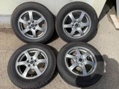 195/65R15 90% темное литьё R15 5/100 Allion Premio Prius ЦО 60.1