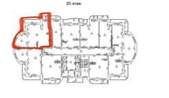 2-комнатная, улица Фрунзе 8/3. частное лицо, 73,7кв.м. План квартиры