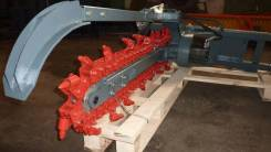 Экскаватор траншейный , максимальная глубина копания 1200 мм, ширина траншеи 160 мм., резцовая цепь.