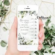 Дизайн свадебных приглашений, планов рассадки, плакатов