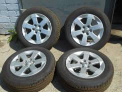 Продаю комплект летних колес Toyota на литье на 15 (5*100) 185/65/15