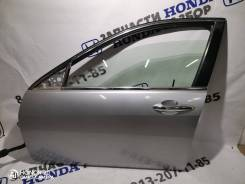 Дверь передняя левая хонда аккорд 7 серебро NH623P