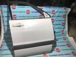 Дверь передняя правая (в сборе) Toyota Lite Acu Noah SR50 цвет 1С1