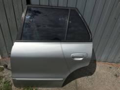 Дверь боковая, Mitsubishi Galant 1997-2003 [MR273249], левая задняя