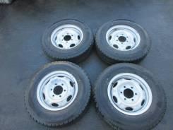 +Комплект летних колес на штамповках. б/п. по РФ 195 80 R15 LT DE-125
