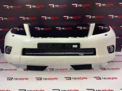 Бампер передний Toyota Land Cruiser Prado 150 1 модель белый перламутр