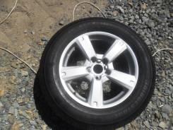 Летние колесо: шина 225/65R17 Bridgestone на литье Toyota 5x114,3.