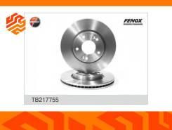Диск тормозной Fenox TB217755 передний TB217755