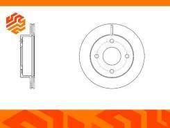 Диск тормозной вентилируемый G-Brake GR20832 передний GR20832