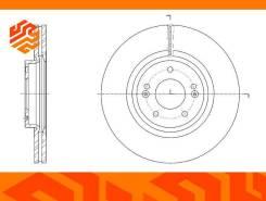 Диск тормозной вентилируемый G-Brake GR21416 передний GR21416