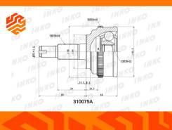 ШРУС внешний INKO 310075A передний 310075A