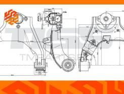 Рычаг подвески верхний JD Jdcpx130R правый передний JDCPX130R
