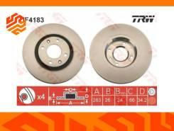 Диск тормозной TRW DF4183 передний DF4183