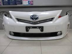 Бампер Toyota Prius Alpha 2013, ZVW41, ZVW40 передний 070 перл