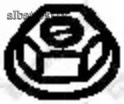 Гайка M10*1.25 MM 90212-SA5-003 90212-671-005 90179-10070 20602-41G00 20602-41G01 20602-41G0A 258-047 162Н. Bosal '258047 258047
