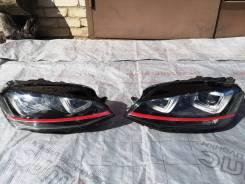 Фара левая, оригинал VW, б/у, Golf 7 (VII) GTI, ксенон, Европа