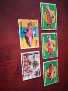 Набор марок транспорт, гашеный.