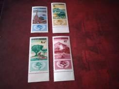 Набор марок Руанда , чистый.