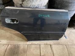 Дверь боковая Toyota chaser jx100 задняя правая