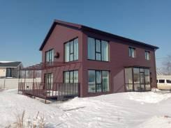 Строящийся дом. С\о ромашка 3, р-н шмидтовка, площадь дома 200,0кв.м., площадь участка 600кв.м., скважина, электричество 15 кВт, отопление электри...