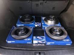 Комплект тормозных дисков и колодок на Toyota Land Cruiser Prado 120 43512-60151