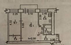 2-комнатная, улица Школьная 11. Железнодорожный, агентство, 45,0кв.м.