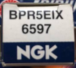 Свеча зажигания NGK BPR5EIX / 6597 BPR5EIX