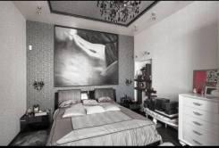 3-комнатная, переулок Краснознаменный 9/11. Центр, агентство, 75,0кв.м. Вторая фотография комнаты