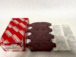 Колодки тормозные оригинал Toyota Япония 0446628080. Цена 4500р 04466-28080