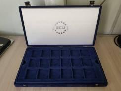 Большая красивая Бархатная коробка для монет