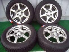 Продам комплект колес на литье 185/65R15 Bridgestone лёд Partner