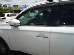 Дверь передняя левая Mitsubishi Outlander GF8W 4J12 2013 белый перлам