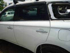 Дверь задняя левая Mitsubishi Outlander GF8W 4J12 2013 белый перламутр